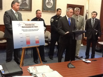 Illinois Law Enforcement Leaders to General Assembly: Cuts to State Preschool Risk Public Safety (Photo: Ashley Griffin/Illinois Issues)